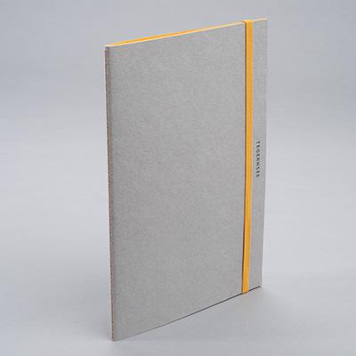 """Notebook """"Tegernsee"""", Orange (Gmund)"""