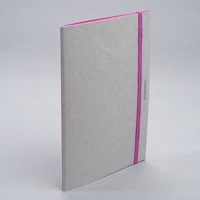 """Notebook """"Tegernsee"""", Pink (Gmund)"""