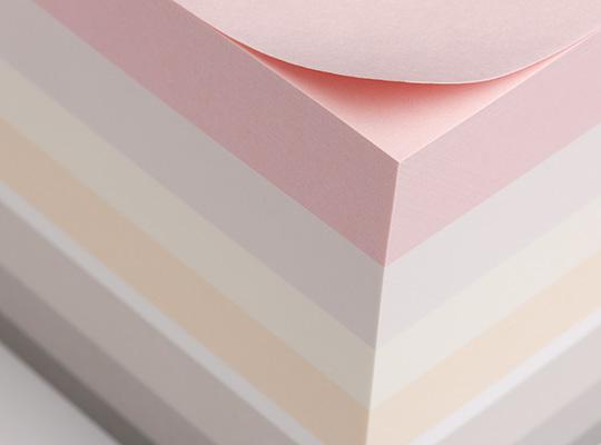 Paper Cube, Candy (Gmund)