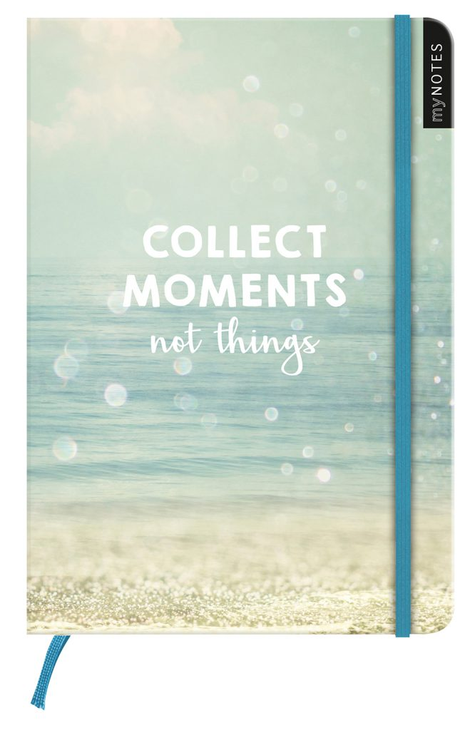 "Notebook ""Collect Moments"""