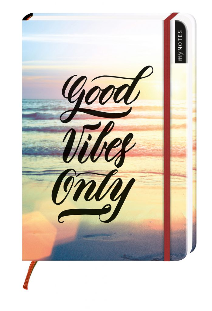"Notebook ""Good Vibes Only"""