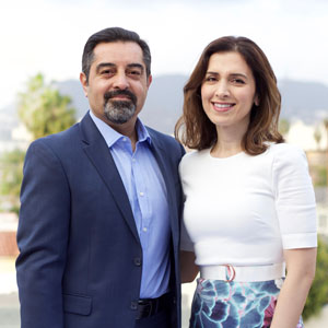Ayesha and Dean Sherzai, MD